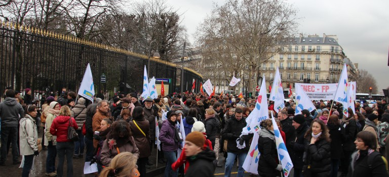 Grève : une centaine d'écoles fermées en Val-de-Marne ce jeudi 9 avril