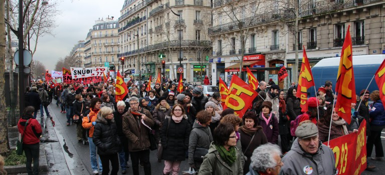 Grève du 12 février : 90% des enseignants en grève