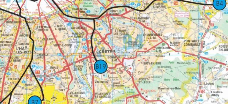 Taxis en colère: opération escargot sur toutes les autoroutes!