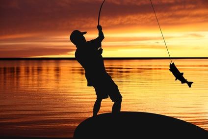 Pêche sportive au Parc Floral