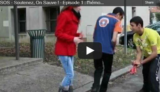 La Protection civile du Val de Marne lance une série TV sur les gestes qui sauvent!