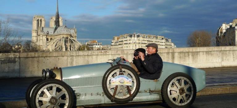 15e traversée hivernale de Paris en voitures anciennes