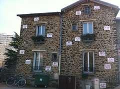 Installation poétique au service culturel de Fontenay