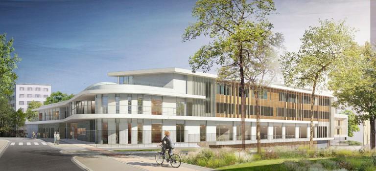 Le futur collège Lucie Aubrac de Champigny en images