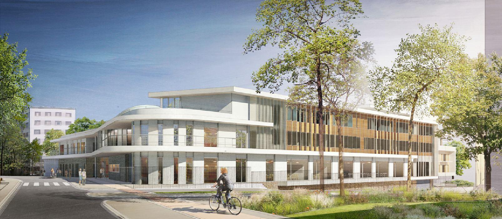 Futur College Lucie Aubrac Angle Nord