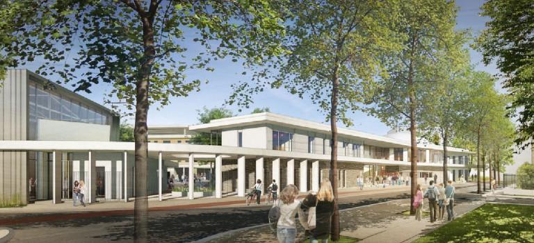 Le chantier du collège Lucie Aubrac démarre à Champigny