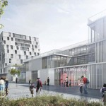 Ivry Confluence Groupe scolaire Image Agence Chartier-Dalix