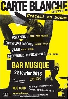 Rock, pop et folk à Créteil