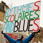 Manifestation Rythmes scolaires 12 fevrier