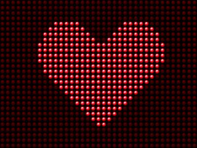 Saint-Valentin : les panneaux lumineux ont la cote