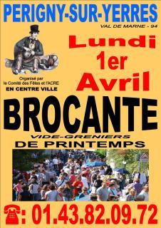 Brocante de printemps à Périgny