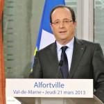 Francois Hollande Alfortville
