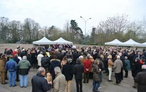 Manif Aire voyage Bois Vincennes Manifestants