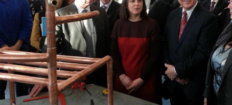 La ministre lance la semaine de l'artisanat dans le Val de Marne