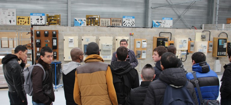 Semaine de l'industrie : ERDF promeut ses filières