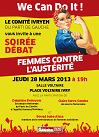 «Femmes contre l'austérité» – Soirée débat