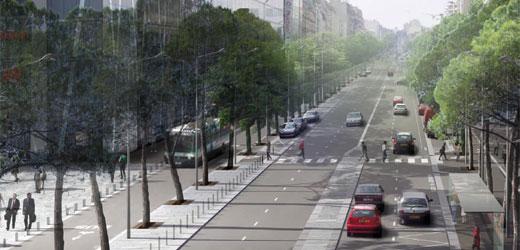 RD 7 : promenades commentées, découverte du tramway et ateliers de croquis urbain