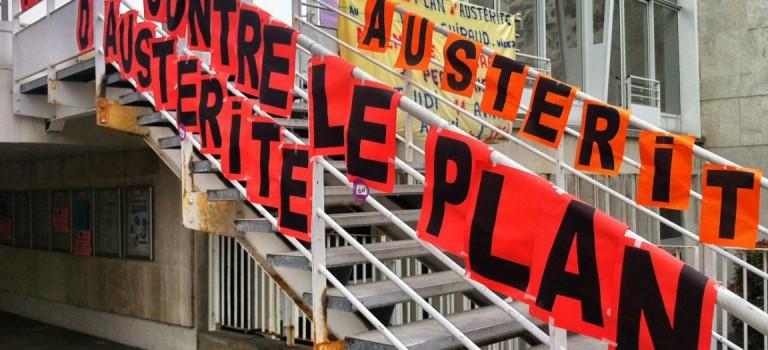 Mobilisation des syndicats à l'hôpital Paul Guiraud