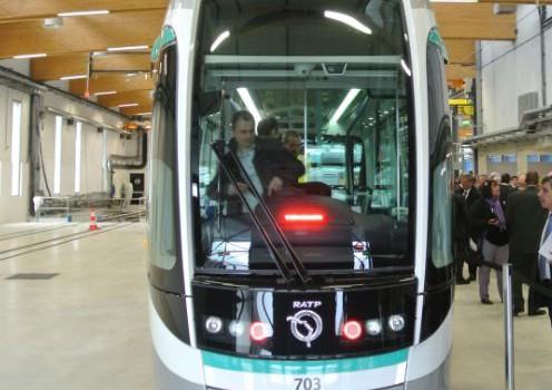 La RD7 fête son tramway