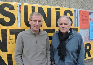 Hugues Legendre et Joel Volson Sud Sante Paul Guiraud Villejuif