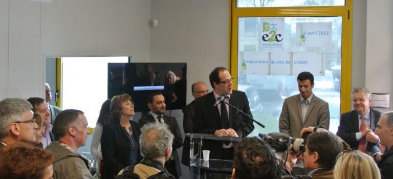 Inauguration et nouveaux partenariats pour l'école de la deuxième chance de Créteil