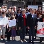 Manifestation Riverains Sucy en Brie