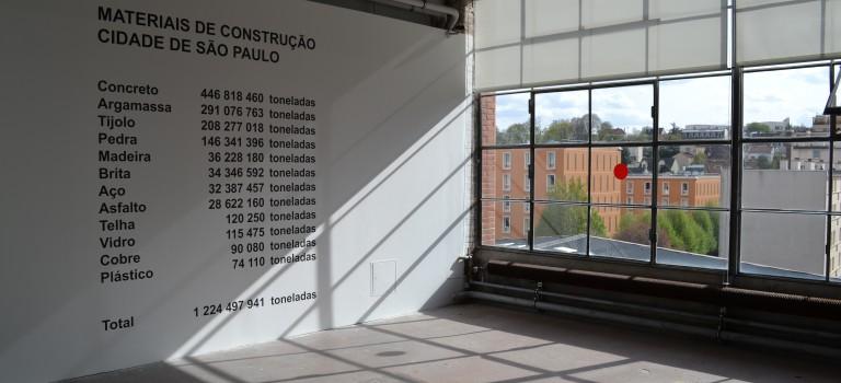 Expo au Credac : Lara Almarcegui pèse la ville