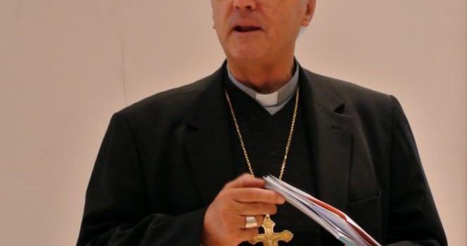 Souffrant, l'évêque du Val de Marne présente ses voeux en vidéo