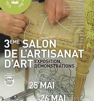 Salon de l 39 artisanat d 39 art villeneuve le roi 94 citoyens for Salon de l artisanat valence