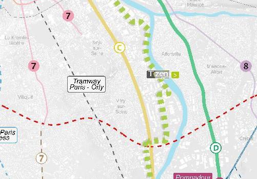 Nouvelle étape pour le T Zen 5 entre Paris et Choisy