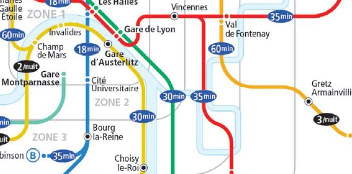 Fête de la musique 2013 : métro, RER et bus de nuit dans l'Est parisien