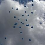 Lâcher de ballons Eiffage Photo JF Le Helloco