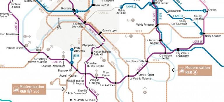 Grand Paris Express : avis favorable avec recommandations pour la ligne 15 Sud
