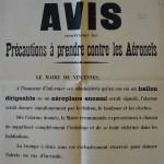 Avis aeronefs Vincennes