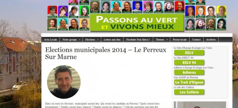 EE-LV ira tout seul aux municipales au Perreux sur Marne