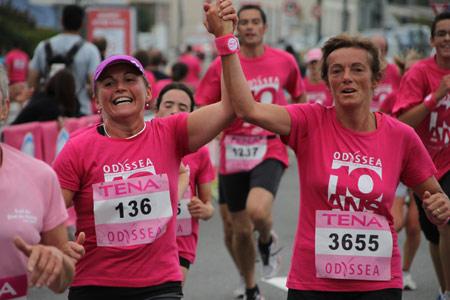 C'est parti pour octobre rose contre le cancer du sein