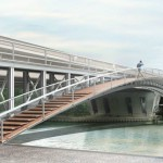 Passerelle Pont de Nogent Image Agence Morris-Renaud
