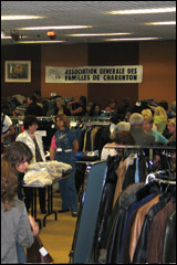 Bourse aux vêtements à Boissy