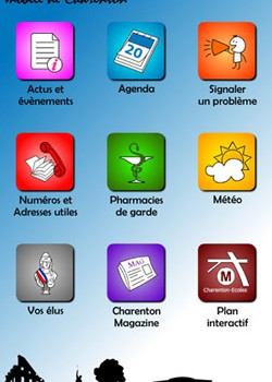 Charenton lance son application pour smartphones
