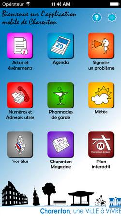 Charenton smartphone