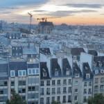Paris vue de Beaubourg Photo 94 Citoyens