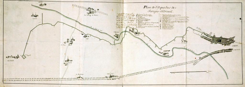 Plan Aqueduc Medicis