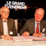 Signature Luc Hittinger, Président de l'UPEC et Marc Spielrein, Président du directoire de l'Agence de développement du Val-de-Marne