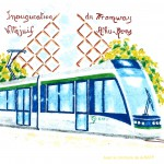 Timbre Poste Tramway T7