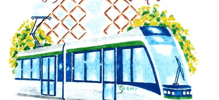Un timbre poste pour fêter le tramway T7