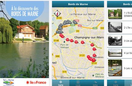 Une application audioguide gratuite pour découvrir les bords de Marne!