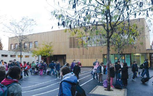 Inauguration de l'extension de l'école Dolet à Alfortville