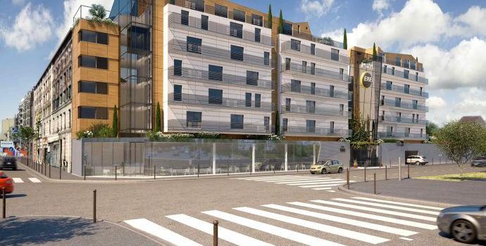 Ivry-sur-Seine accueillera un hôtel B&B en 2015
