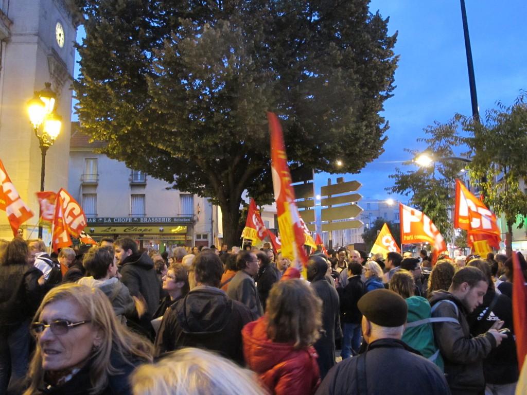 Manifestation Anti FN Champigny sur Marne