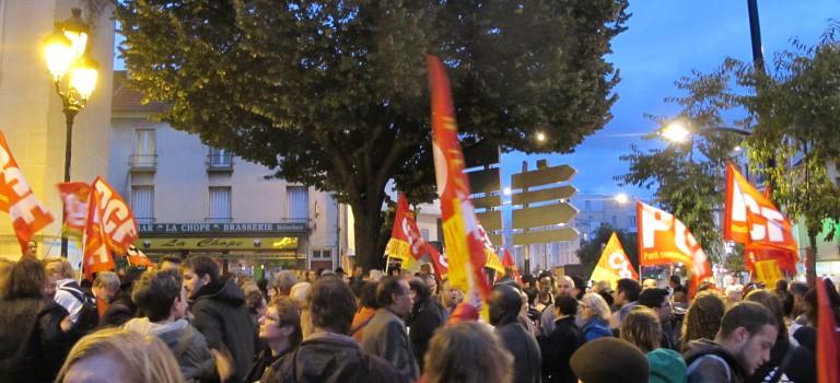 Manifestation contre le Front-National : 250 personnes devant la mairie de Champigny